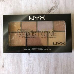 NYX Strobe of Genius Highlighting Palette